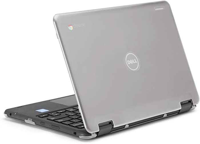 """mCover iPearl Hard Shell Case for 2017 11.6"""" Dell Chromebook 11 3189 Series 2-in-1 Laptop (NOT Compatible with 210-ACDU / 3120/3180 Series) - 3189 Clear"""