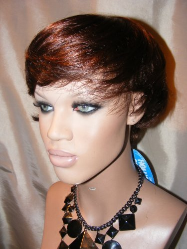 Hollywood Crop (SYNTHETIC MONOFIBRE TOP CROP WIG Chestnut by Hollywood Collection)