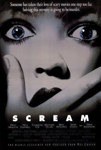 Amazon.com: Scream Póster de la película: Home & Kitchen