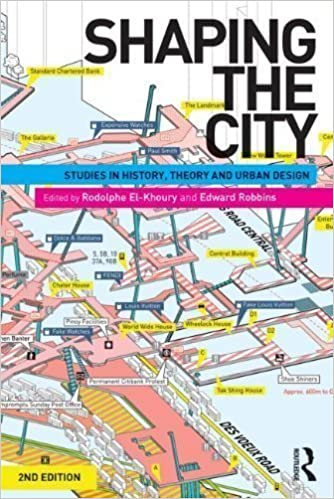 Book Shaping the City: Studies in History, Theory and Urban Design 2nd (second) Edition published by Routledge (2013)