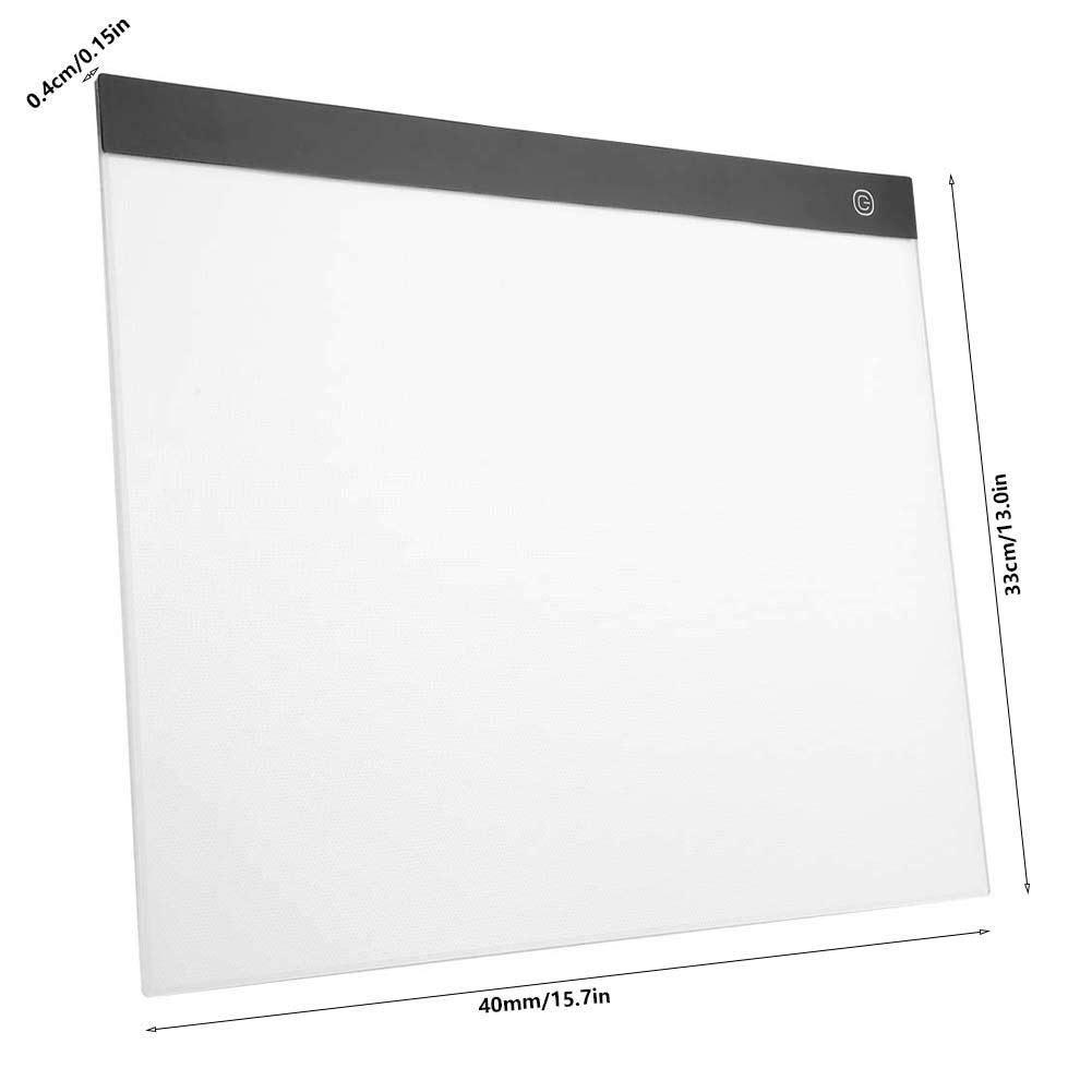 Huakii LED Tracing Table A3 Art Stencil Board Drawing Copy Pad Table