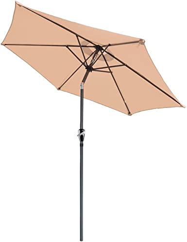 Yescom 8ft UV 30 Aluminum Outdoor Patio Umbrella