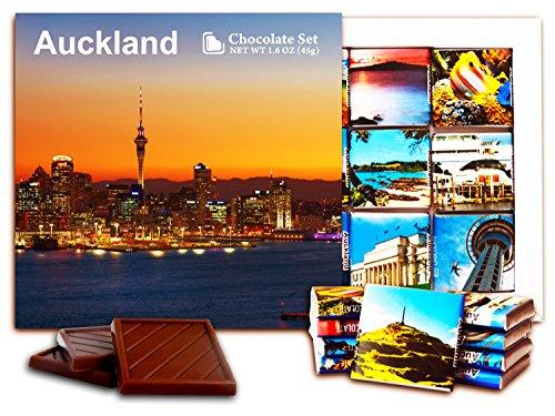 DA CHOCOLATE Candy Souvenir Auckland (New Zealand) Chocolate Set 5x5