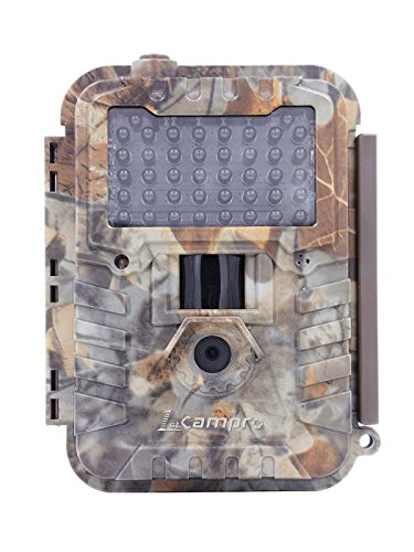(1stCampro Swift Trail and Game Camera, 12MP 1080P Full HD, Invisible Flash Night Vision - Plus 16GB SD Card)