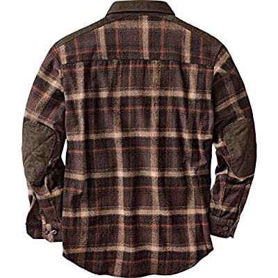 Legendary Whitetails Men's Nightfall Heavyweight Twill Plaid Shirt