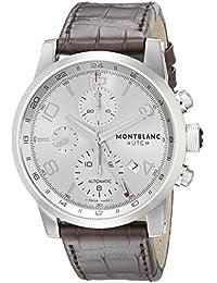 Timewalker ChronoVoyager UTC Men's Brown Leather Strap Swiss Automatic Watch 107065