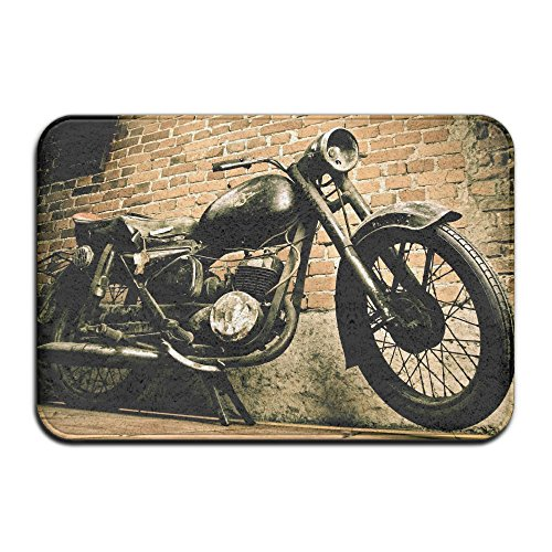Wyuhmat1 Non-Slip Mat 40x60cm Doormat Motorcycle Non-Slip Rug - Collection Kitchen Dining Living Hallway Bathroom Pet Entry Rugs