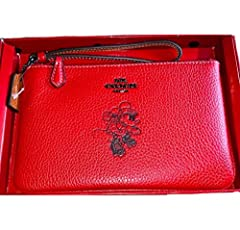 Please Note: COACH™ items cannot be shipped to military addresses (APO or FPO) and addresses in Hawaii, the Virgin Islands, Guam or any other locations outside of the continental US. Refined pebble leather.  Two credit card slots.  Zip-top cl...