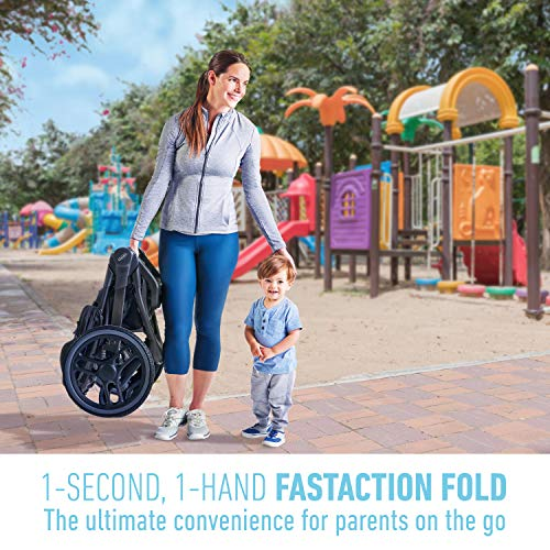 51cZ8WV44iL - Graco FitFold Jogging Stroller, Rowan