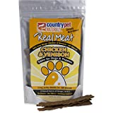 The Real Meat Company 828032 Dog Jerky Chicken/Venison Strips Treat, Long, 8-Ounce Review