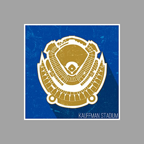 Kauffman Stadium Seating Map - Baseball Seating Map Matte Poster Print Wall Art