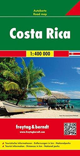 Costa Rica Road Map FB 1:400K (English, Spanish, French, Italian and German Edition) pdf epub