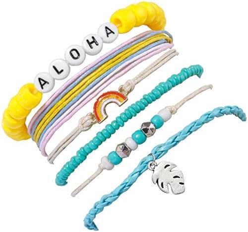 LE TAUCI VSCO Stuff Girl Bracelets String,Jewelry for Teen Girl/Things, 2019 Trending Sksksk
