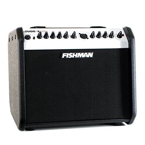 - Fishman Loudbox Mini Limited Edition Black/White Acoustic Amplifier
