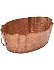 Achla Designs C-52C Embossed Copper Finished Tub