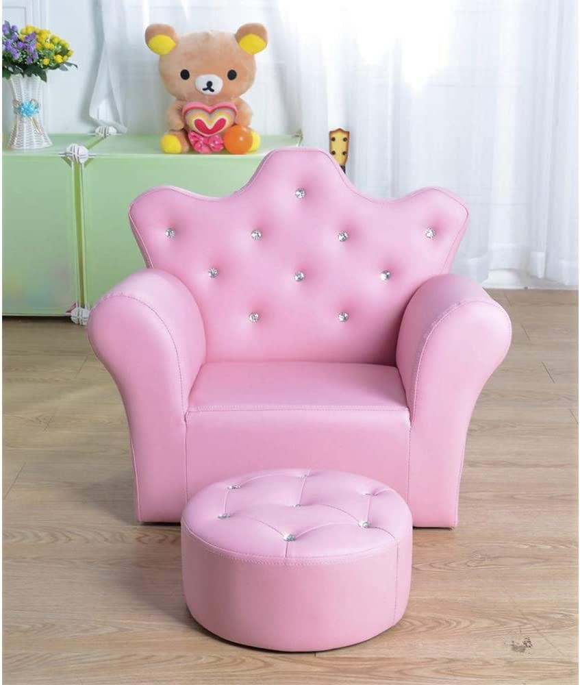 Princess Ottoman Sofa By Tickle Toes