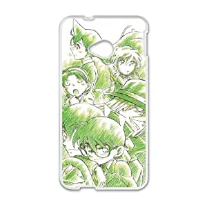 Detective Conan HTC One M7 Cell Phone Case White Customized Toy pxf005_9696429
