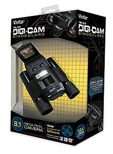 Vivitar VIV-CV-1225V 8MP 2-in-1 Binoculars and Digital Camera, Black by Vivitar