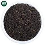 Organic Black Loose Leaf Darjeeling Tea – Pure, 2018 Prime Second Flush with Powerful Antioxidants –Brews the Perfect Probiotic Kombucha- Fillers, Gluten Free- Makes 50 Cups (3.53 ounces)