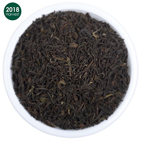 Premium Black Loose Leaf Darjeeling Tea | Pure, 2018 Prime Second Flush with Powerful Antioxidants | Brews the Perfect Probiotic Kombucha| Fillers, Gluten Free| Makes 50 Cups (3.53 (Organic Black Tea)