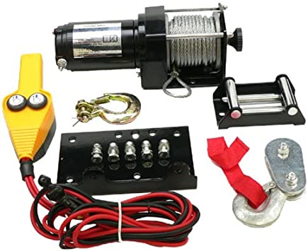 NEW ATV WINCH MOTOR KIT WEATHER RESISTANT TOGGLE SWITCH 25000LB RATING