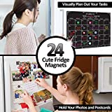 Magnetic Dry Erase Chalkboard Calendar Set for