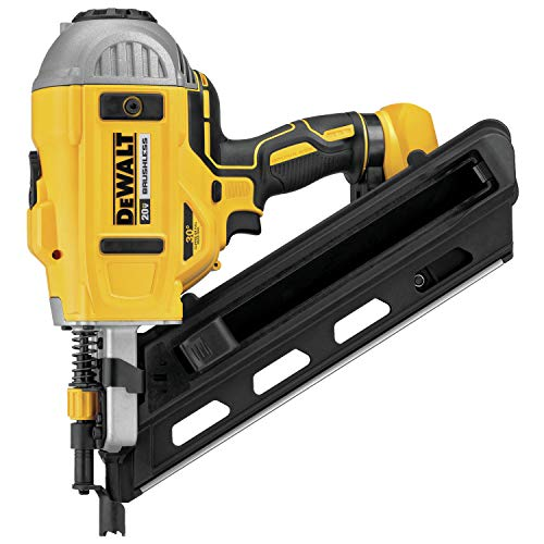 DEWALT 20V MAX XR Framing Nailer, Dual Speed, Tool Only (DCN692B) (Best Framing Nail Gun For The Money)