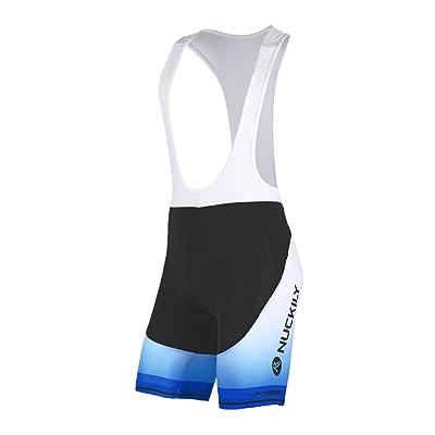 NUCKILY Cycling Short Men's Cycling Clothing Sportswear Bicycle Bib Shorts With Foam Pad