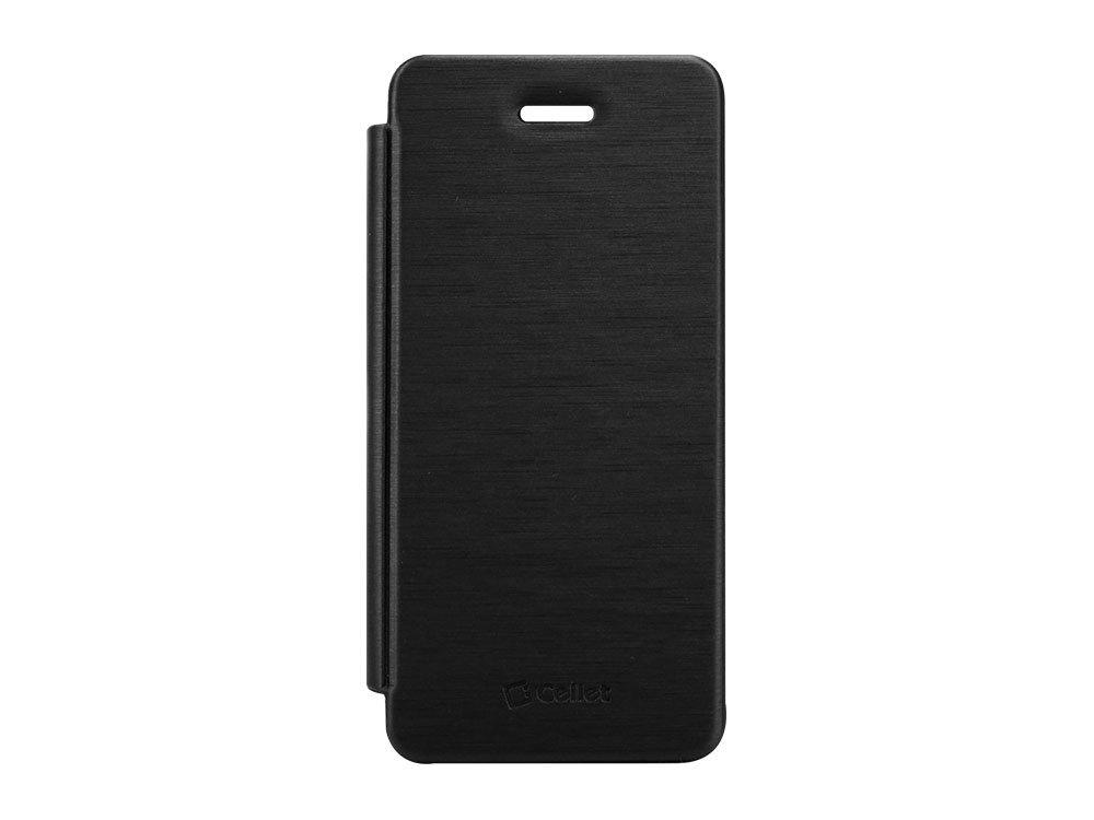 iPhone 5用Celletプレミアムダイアリーケース、ミスティックブラック   B00CQ16ZNC