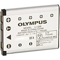 Olympus LI-42B Rechargeable Battery (Silver)