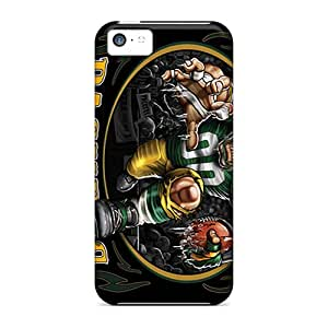 LkuuY4962tIcvI FlowerCase Green Bay Packers Durable Iphone 5c Tpu Flexible Soft Case