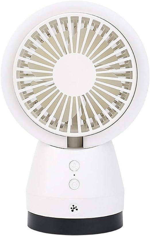 URAURORA Ventilador con purificador de Aire Ventilador con purificador de Aire con Filtro de Aire Liberación de Iones Negativos La Base Ajustable de bajo Ruido Mantiene Fresco para la Oficina en casa: