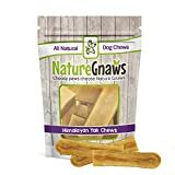 Nature Gnaws Himalayan Yak Chews Large 5-6 inch (3 Count) – 100% Natural Dog Chews for Large Dogs & Strong Chewers For Sale