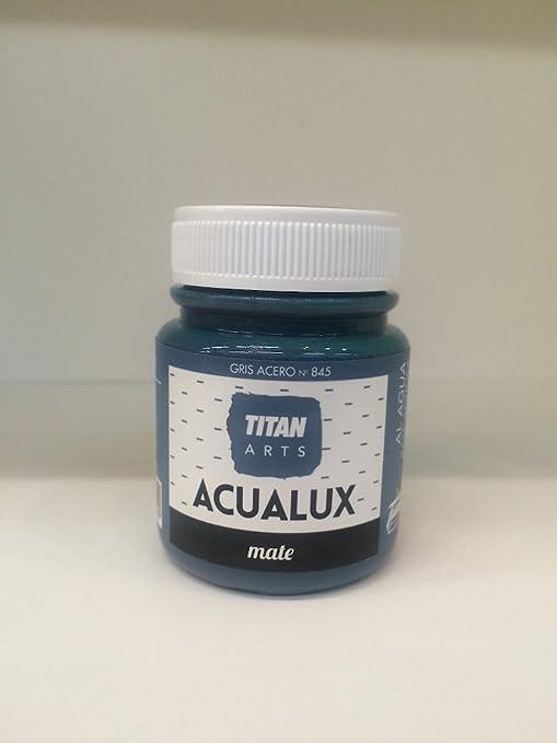 Titan - Acualux Mate Especial Pizarras 100 ml (Gris Acero 845)