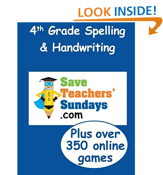 4th Grade Spelling Amazoncom