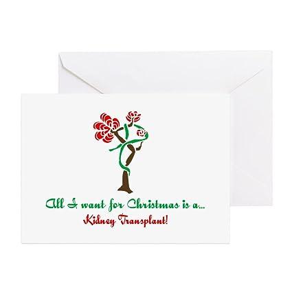 Amazon cafepress christmas wish kidney greeting card note cafepress christmas wish kidney greeting card note card birthday card blank m4hsunfo