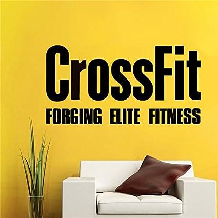 Amazon com: Aihesui Crossfit Decals Bodybuilding Fitness