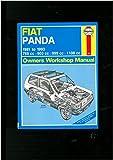 Fiat Panda 1981 to 1993 769cc, 903cc, 999cc, 1108cc Owners Workshop Manual