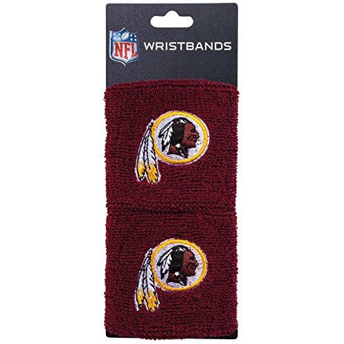 - Franklin Sports Washington Redskins Wristbands - 2.5