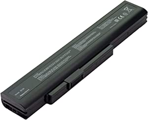 Battpit Laptop Battery Replacement for MSI CX640DX CX640-028AU CX640-043XCN A6400 CR640MX CX640MX CR640-72632G50SX Medion Medion Akoya P6637 P7621 E6228 P6815 Notebook Batteries 10.8V 4400 mAh / 48Wh