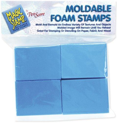 Magic Stamps - Magic Stamp Moldable Foam Stamps 8/Pkg, Blocks