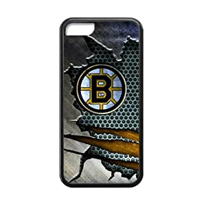 Custom Unique Design NHL Boston Bruins Iphone 5C Silicone Case