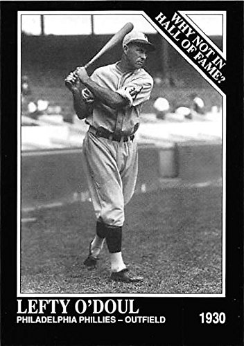 - Lefty O'Doul baseball card (Philadelphia Phillies Pitcher Outfielder) 1992 Sporting News Conlan Collection #447