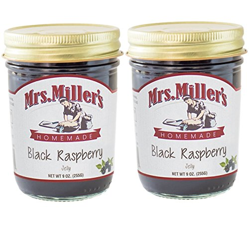 Mrs. Miller's Homemade Black Raspberry Jelly (2 Pack) ()