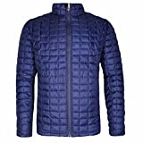 Ben Sherman Men's Quilted Lightweight Puffer Down Coat Jacket (X-Large, Navy)