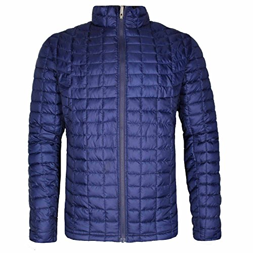 Ben Sherman Men's Quilted Lightweight Puffer Down Coat Jacket (X-Large, Navy) by Ben Sherman