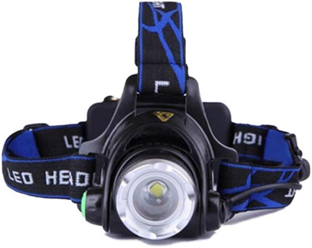 LED Linterna de Cabeza Super Brillante 120 Lumens Lamp/ára de Cabeza Impermeable Luz Frontal 3 Modos Para Camping Pesca Ciclismo Carrera Caza Linterna Frontal 3 Pilas AAA not incluidas