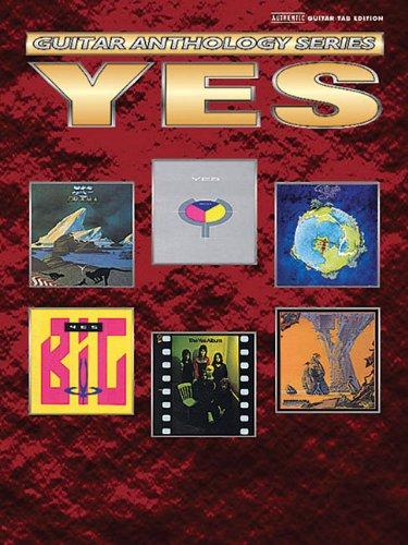 - Yes -- Guitar Anthology: Authentic Guitar TAB (Guitar Anthology Series)