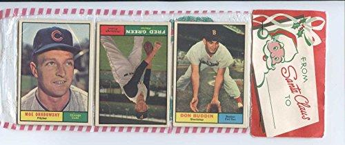 1961 Topps Baseball Unopened Christmas Rack Pack - Danny Murtaugh