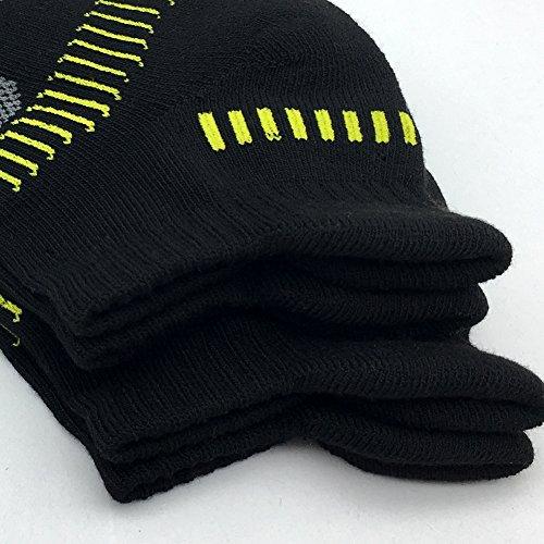 6 Pair Pack BERING Women/'s Performance Athletic Running Tab Socks
